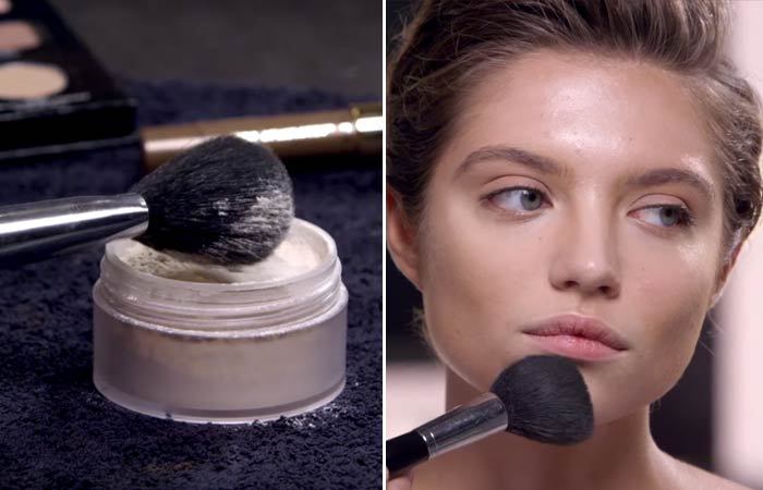 How To Contour Your Face - Finishing For Square Face