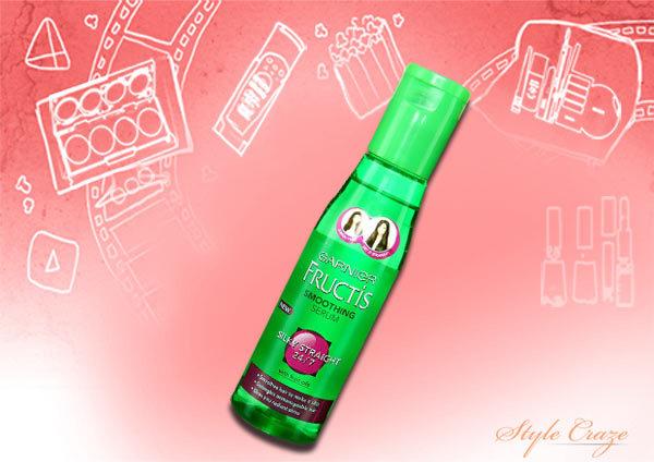 garnier fructis silky straight 24/7 smoothing serum