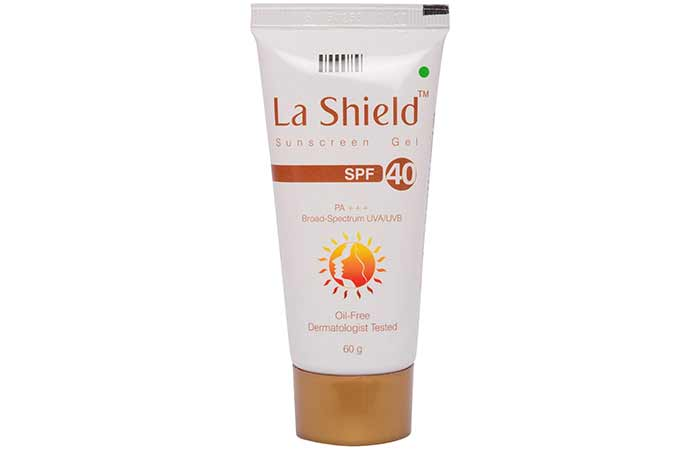 Best Sunscreens In India - Glenmark La Shield Sunscreen Gel SPF 40