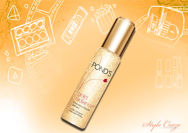 pond's gold radiance serum