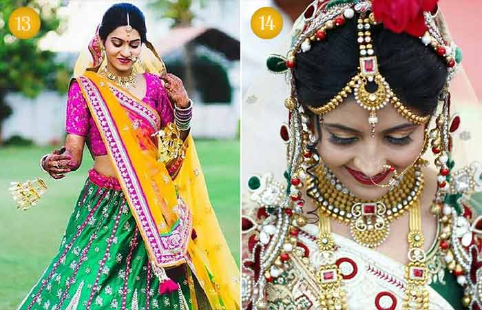 Beautiful Indian Bridal Makeup Looks - Gujarati Bridal Looks 1 & 2