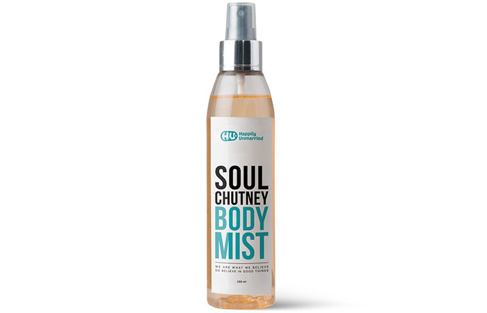 Happily Unmarried Soul Chutney Body Mist