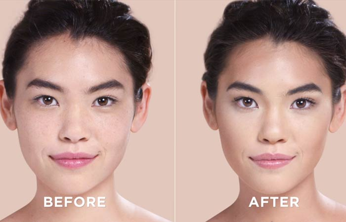 How To Contour Your Face - Here's the final result