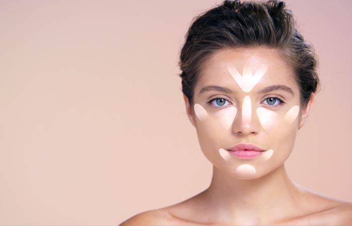How To Contour Your Face - Highlighting For Square Face