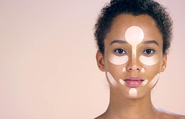 How To Contour Your Face - Highlighting For Oval And Oblong Face