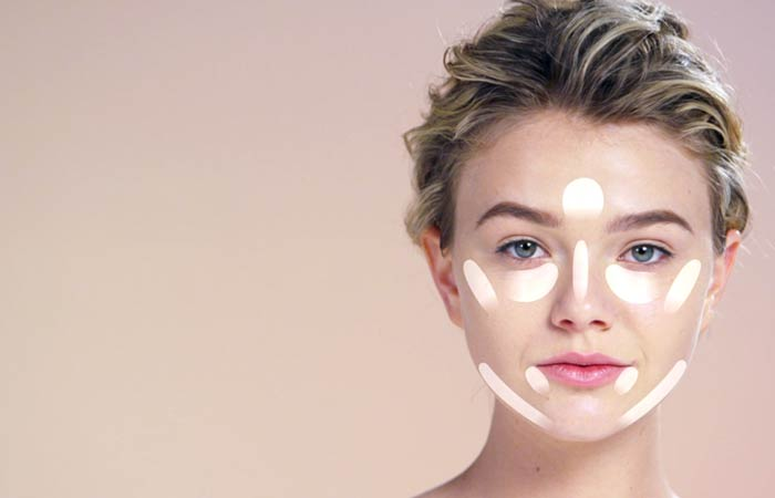 How To Contour Your Face - Highlighting Your Heart-Shaped Face