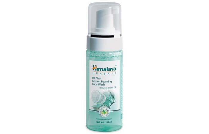 Himalaya Herbals Oil Clear Lemon Foaming Face Wash - Himalaya Products