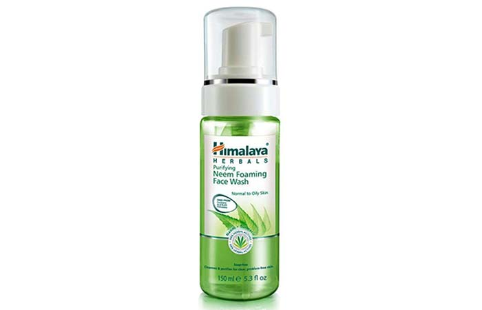 Himalaya Purifying Neem Foaming Face Wash - Himalaya Products