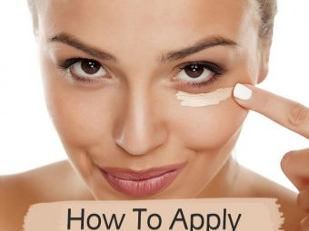 How To Apply Concealer - A Step-By-Step Tutorial
