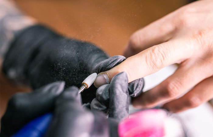 How To Remove Acrylic Nails With An Electric FileNail Bit