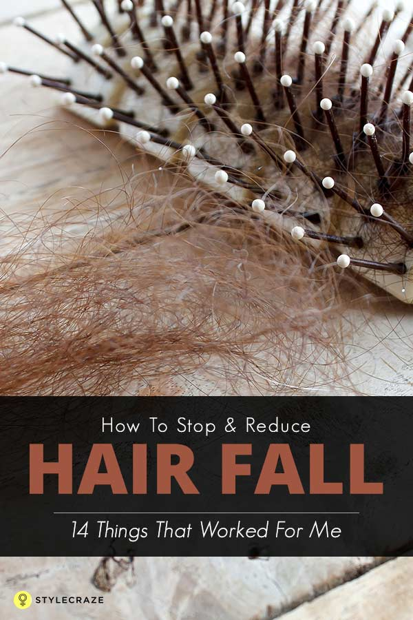 How To Stop And Reduce Hair Fall 14 Things That Worked For Me