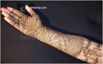 Indian Mehndi Designs 10