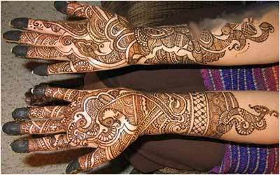 Mehndi Designs Please : Rajasthani stylish wedding mehndi designs collection