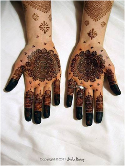 Indian Mehndi Designs 20