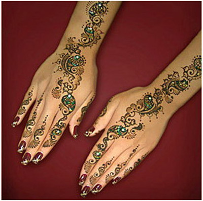 Indian Mehndi Designs 21