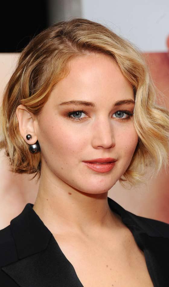 Jennifer Lawrence's Tousled Short Bob