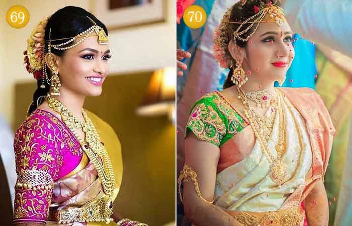 Karnataka Bridal Looks 1 & 2