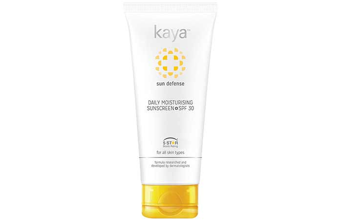Best Sunscreens In India - Kaya Daily Moisturizing Sunscreen SPF 30