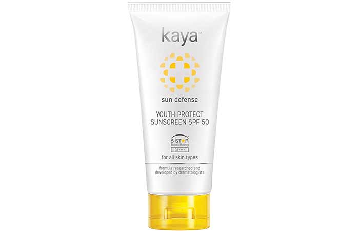 Best Sunscreens In India - Kaya Youth Protect Sunscreen SPF 50