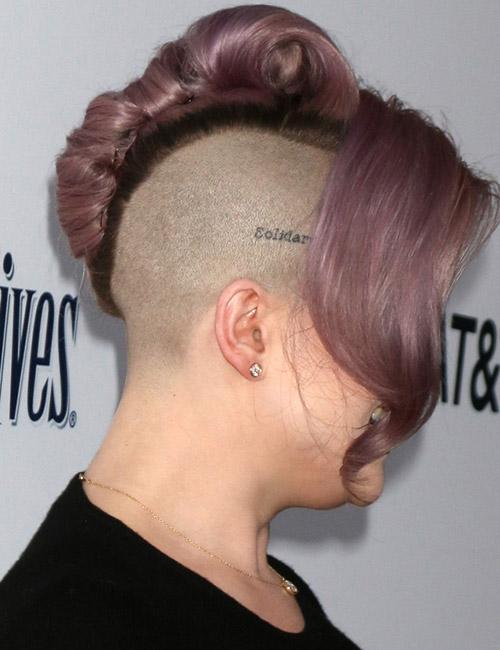 Kelly Osbourne's Side Cut