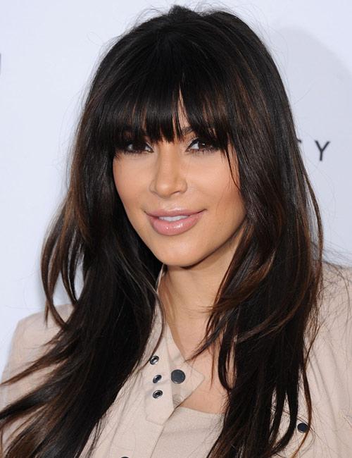 Kim Kardashian's Long