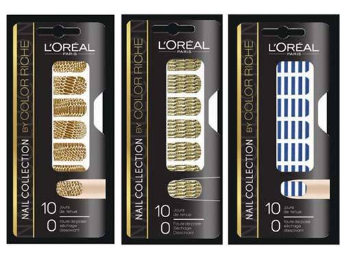 L'Oreal Paris Color Riche Le Nail Art Stickers