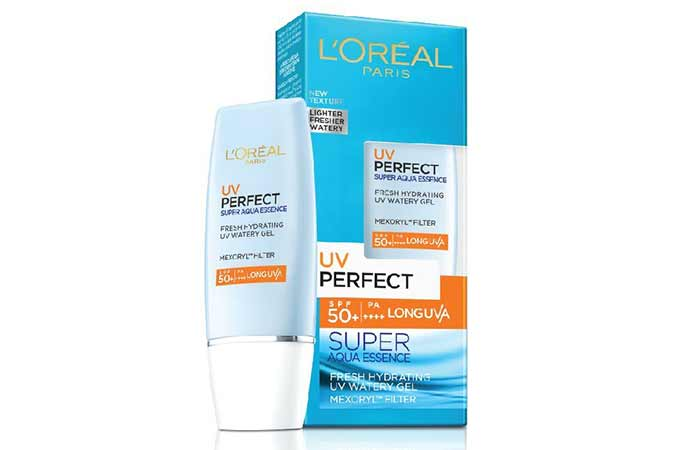 Best Sunscreens In India - L'Oreal Paris UV Perfect Super Aqua Essence SPF 50
