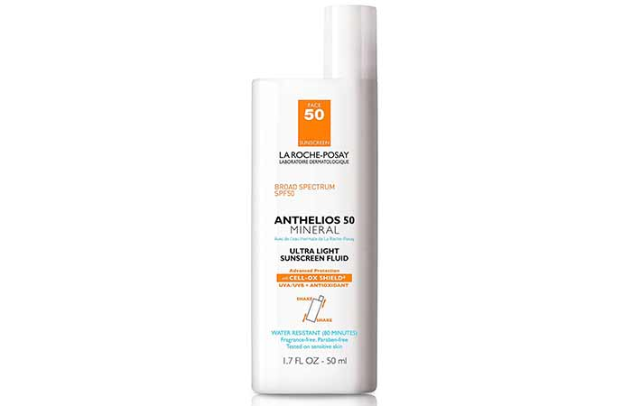 Best Sunscreens In India - La Roche-Posay Ultra Light Sunscreen SPF 50