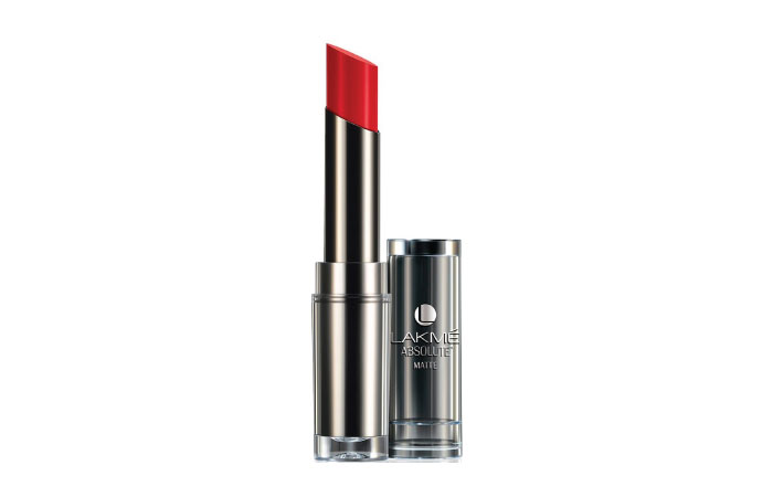 Lakme Absolute Sculpt Hi-Definition Matte Lipstick – Red Envy