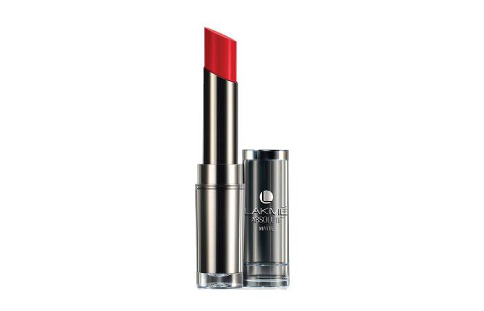 Lakme Absolute Sculpt Hi-Definition Matte Lipstick – Red Envy