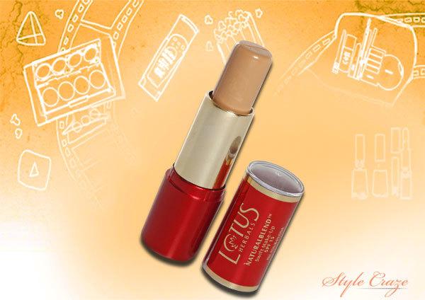 lotus herbals natural blend swift makeup stick concealer
