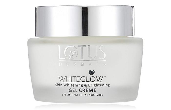 Lotus Herbals WhiteGlow Skin Whitening & Brightening Gel Crème