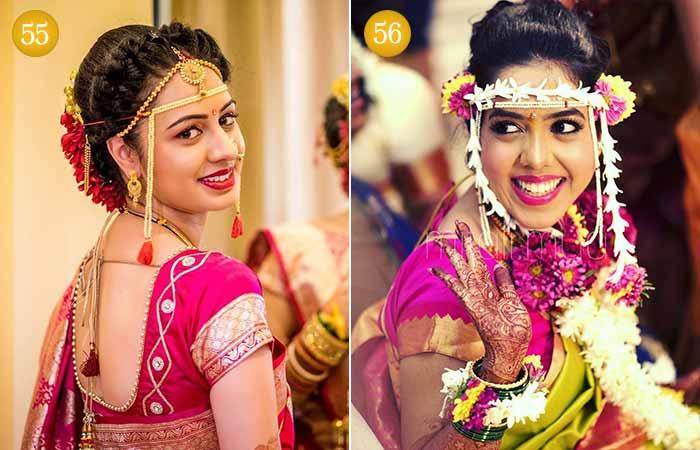 Beautiful Indian Bridal Makeup Looks - Maharashtrian Bridal Look