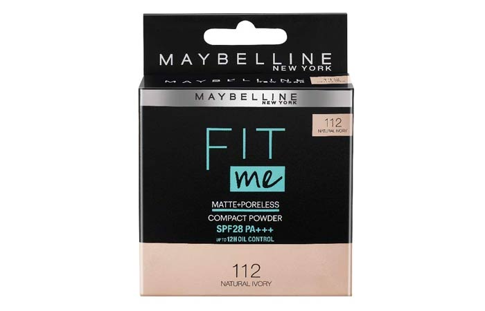 Maybelline Fit Me Matte Poreless Compact Powder