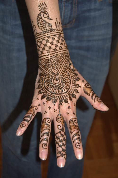 mehendi designs for hands latest