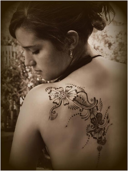mehndi designs for backside