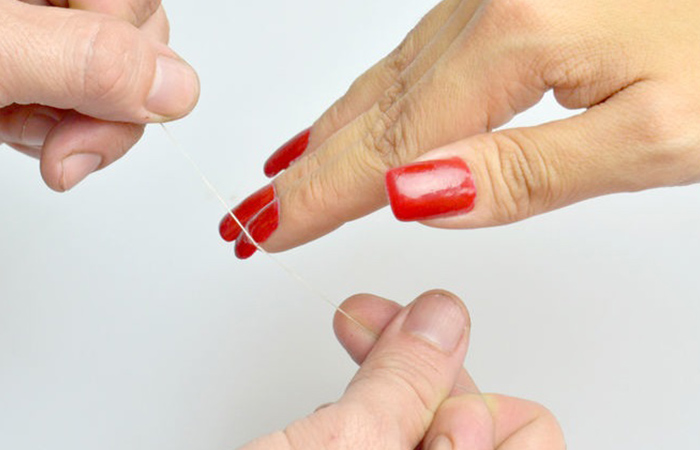 How to remove acrylic nails with and without acetone safely how to remove acrylic nails using dental floss solutioingenieria Image collections