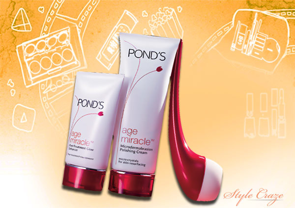 pond's age miracle microdermabrasion kit