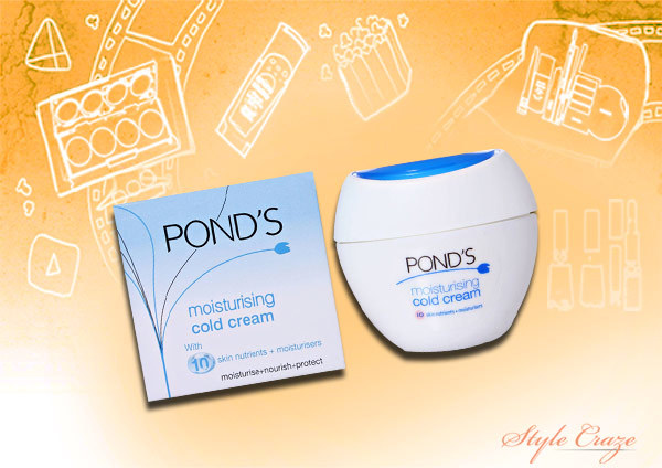 pond's moisturizing cold cream