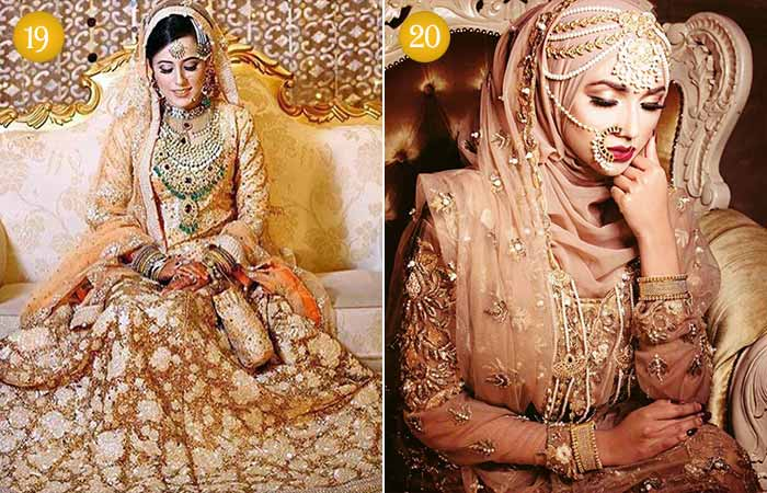 Muslim Bridal Look with Hijab
