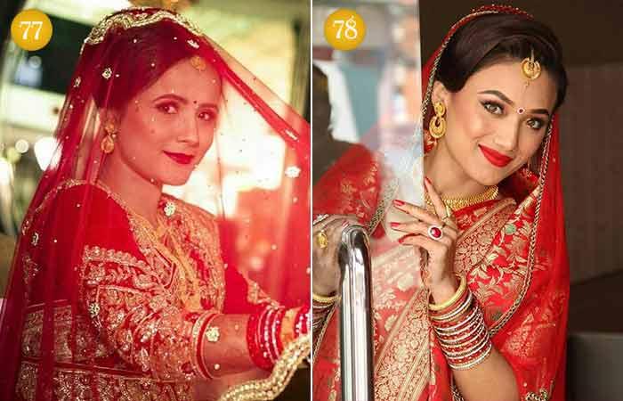 Beautiful Indian Bridal Makeup Looks - Nepali Bridal Look