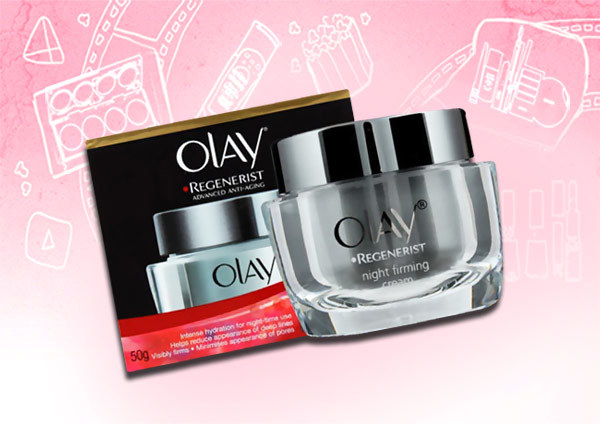olay regenerist night firming cream