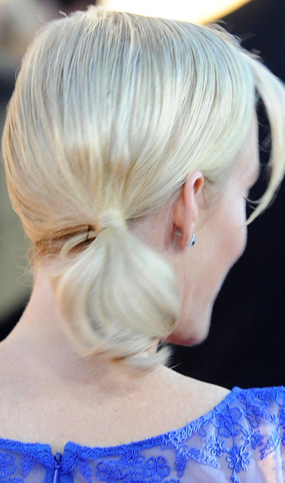 Platinum White Short Ponytail