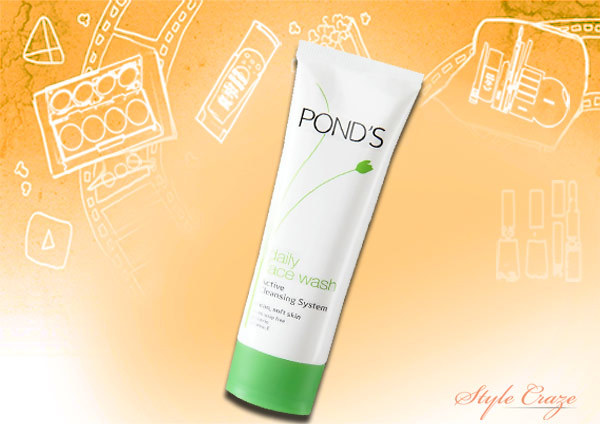 pond's daily face wash