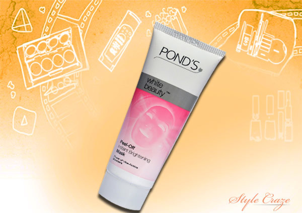 ponds white beauty peel off mask