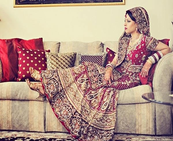Punjabi bridal look
