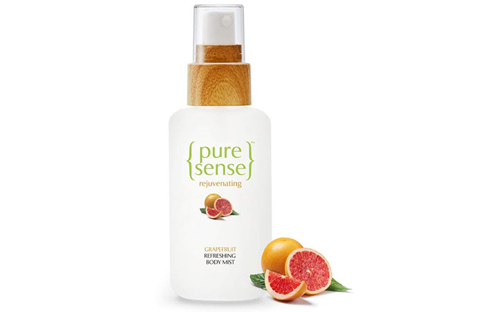Pure Sense Refreshing Body Mist In Grapefruit
