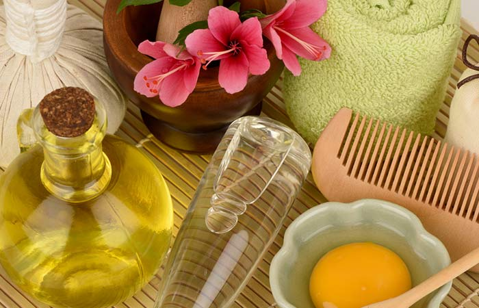 Sesame-Oil-And-Egg-For-Hair