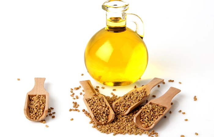 Sesame-Oil-And-Fenugreek-For-Hair