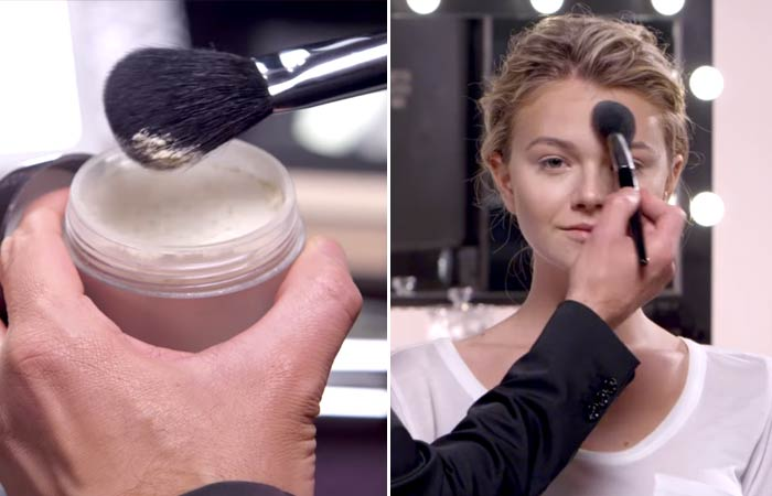 How To Contour Your Face - Setting It For Heart-Shaped Face